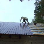 Оцинокванный профнастил для крыши