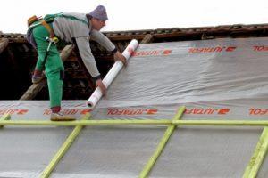 Монтаж гидроизоляции крыши