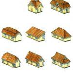 Виды крыш в частных домах
