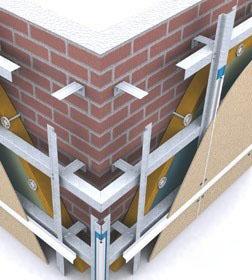 Вентилируемый фасад с минераловатным утеплителем