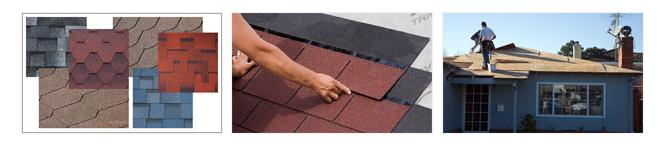Гибкая черепица - выбор материала для крыши дома