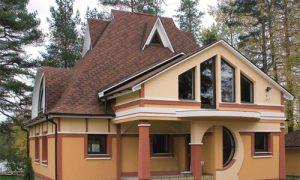 Пример комбинированной крыши
