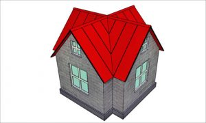 Пример многощипцовой крыши