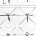Как правильно крепить металлочерепицу саморезами
