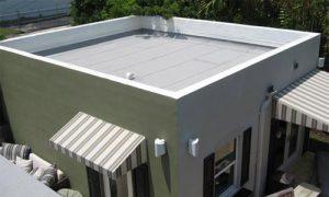 Конструкция плоской крыши