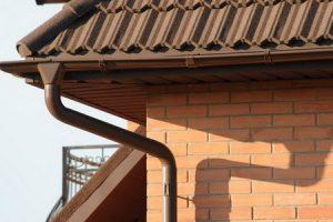 Системы слива воды с крыши